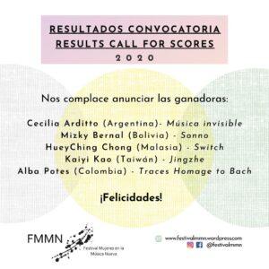 FMMN 2020 Colombia